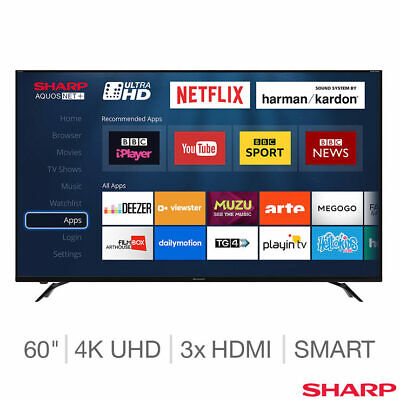 Sharp LC-60UI9362K 60 Inch 4K Ultra HD Smart LED TV K9