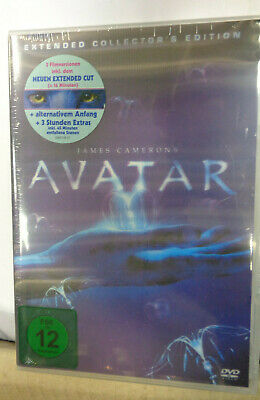 Avatar (Extended Collector's Edition) [3 DVD's] 2010 *Neu & OVP* Sam Worthington