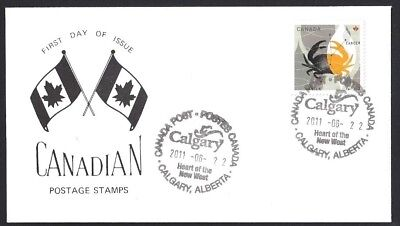 Canada   # 2452  Cancer The Crab -  Special Event Cachet   New 2011 Unaddressed