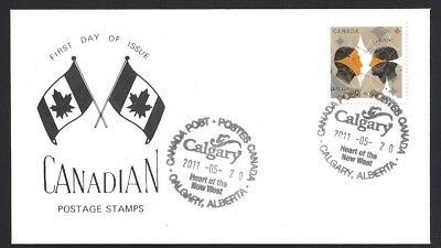 Canada   # 2451  Gemini The Twins -  Special Event Cachet   New 2011 Unaddressed