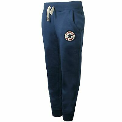 Converse Junior Boys Core Pant Thunder Sweat Pants Joggers Navy 164190 178