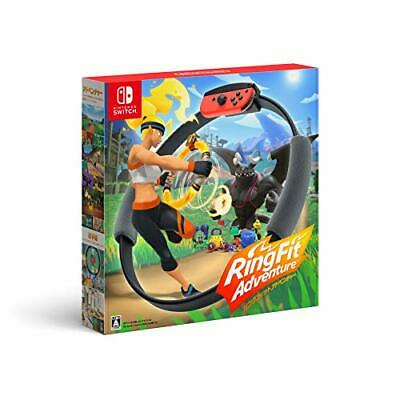 (JAPAN) Nintendo Switch video game Ring Fit Adventure -Switch