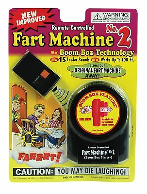 Remote Controlled Fart Machine No2 Practical Joke Prank Comedy Kids Adult Funny