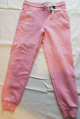 New With Tags Girls Pink Jogging Bottoms Age 8-9