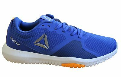Reebok Flexagon Force Mens Trainers Blue Lace Up Training Shoes CN6528