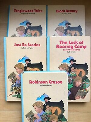 Children Classics Library Books Publish By Bobley New York 5 Collectibles Books
