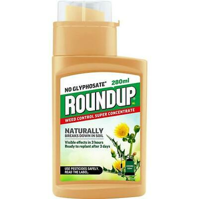 Roundup Naturals Weed Killer Concentrate (Glyphosate-Free) - 280 ml