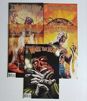 Wake The Dead 2003 #1-5 Complete 5 Issue Idw Comic Set Run Horror