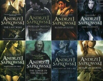 Andrzej Sapkowski 8 Books Set Collection (The Witcher)✅DIGITAL✅[P.D.F//E.P.U.B]✅