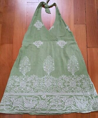 """Girls Summer Open Back Side Dress by """"milk and honey"""" Age 4-5"""