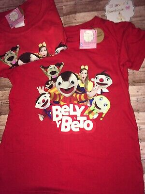 Camisa De Bely y Beto / Bely Y Beto Shirt / Custom Shirts Any Size /kids/ Adults