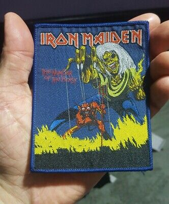 Iron Maiden Number Of The Beast Limited Edition NEW amazing collection for sale