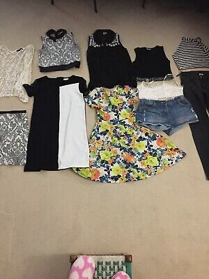 Girls clothing bundle age 11 to 12  River Island Next H&M select Primark
