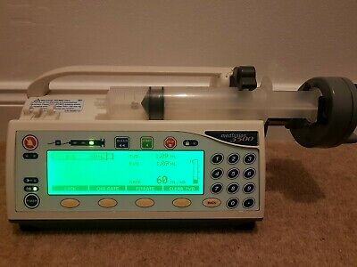 Smiths Medical Medfusion 3500 Portable Syringe Patient Pump Infusion Iv