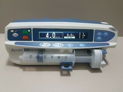 Alaris Asena GS Syringe Pump Infusion UNIVERSAL DIFFERENT SYRINGES AND SIZES.
