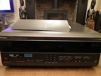 Technics Sl-Mc6 Compact Disc Changer 110 Disc With Remote