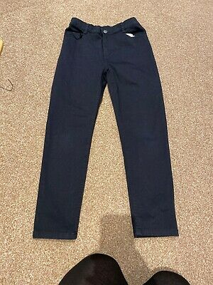 F&F Blacl Jeans Boys Aged 11-12 Years