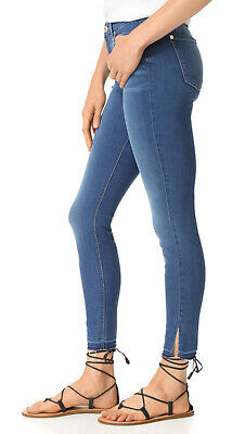 NWT 7 For All Mankind High Rise Ankle Skinny in Manhattan b(air) Stretch Jean 29