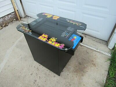 Commercial Classic cocktail table arcade game Ms Pacman Galaga Pacman