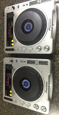 Pioneer CDJ-800MK2 DJ Turntables (set of 2) Tested & Working Reconditioned