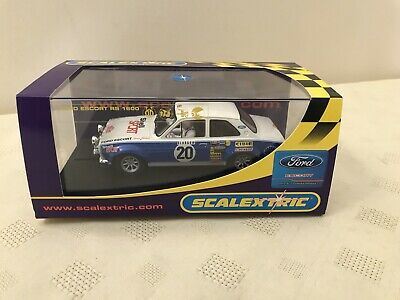 Vintage Scalextric Ford Escort Boxed