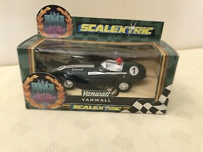 Vintage 1991 Scalextric Vanwall Boxed Made By Hornby England