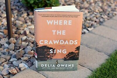 BEST SELLER - Where the Crawdads Sing - Hardcover