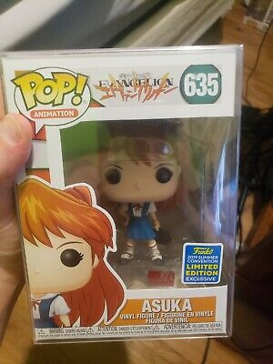 Funko Pop Animation #635 Asuka Neon Genesis Evangelion SDCC Shared Exclusive