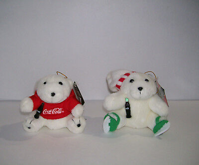 COCA COLA Polar Bears, plush