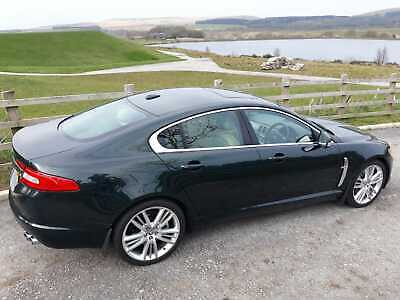Rare 4.2ltr V8 Jaguar XF (Premium Luxury) with stainless quad sports exhaust :)