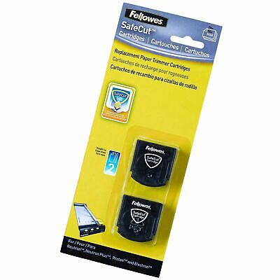 Fellowes Safecut Replacement s - Straight (Pack of 2)