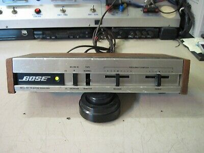 Equalizzatore  Bose  901 Iii Serie    Vintage