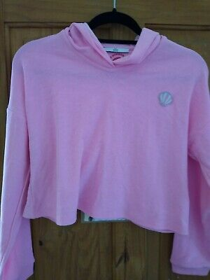 Girls M&S Hooded Top Aged 13-14 New