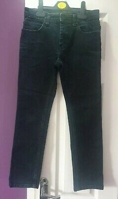 Boys Slim Fit Navy Blue Jeans Aged 10 Stretch Lovely