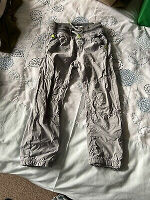 Next Boys Trousers Grey Size 3-4 Years