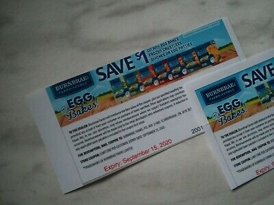 SAVE on BURNBRAE EGG BAKES Products Coupons - 10x $1.00  (915)