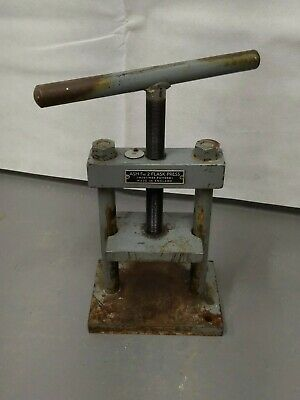 ASH Fig 2 Dental Flask Press - Mortimer - 3 Ton - Made in England  - Vintage