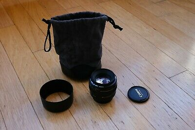 Canon EF 50mm f/1.4 USM Lens + Hood and Protection