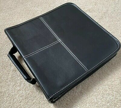 128 Cd Carry Case With Mixed Action Films Dvd Job Lot