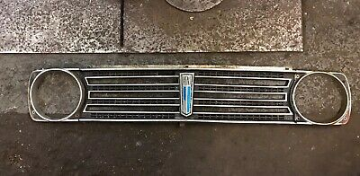 Austin Classic Mini Clubman 1100 1275 GT front grill With Badge No Ends