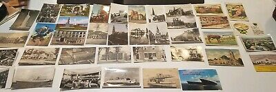 LOT OF 38 VINTAGE POSTCARDS, from the early 1900s