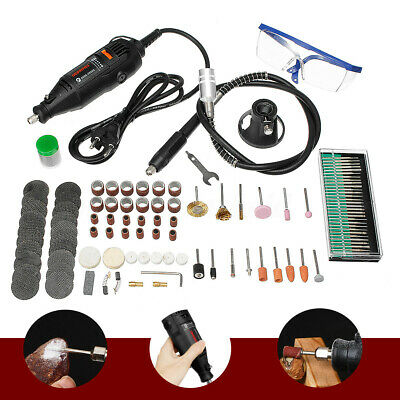 140Pc/Set Professional Mini Electric Drill Grinder Rotary Tool Engraver Grinding