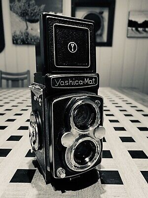 Yashica Mat Copal MXV TLR Vintage Camera In Original Case Exc++