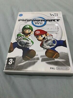 Mario Kart (Nintendo Wii Videogame) With instruction Booklet