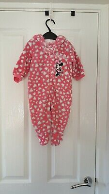 Disney all in one Minnie Mouse fleece 3-6 months