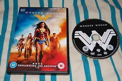 Wonder Woman (Dvd,2017) Gal Gadot, Chris Pine