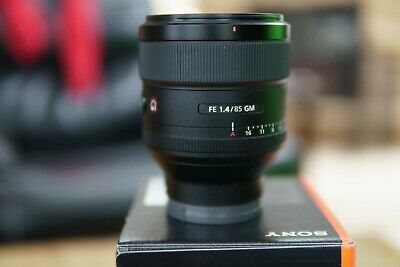 Sony G-Series 85mm F/1.4 GM FE Lens Barely used. MINT USA model
