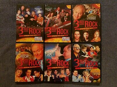 3rd Rock from the Sun - Complete Series DVD - season 1, 2, 3, 4, 5, 6