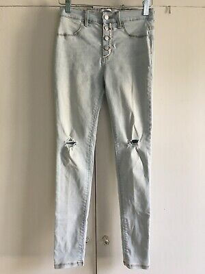 Old Navy Girls Distressed Rockstar Jeggings Jeans Size 14 EUC