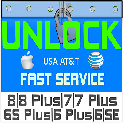 AT&T iPhone (ALL MODELS) Factory Unlock Code Service - Clean & Expired Contract